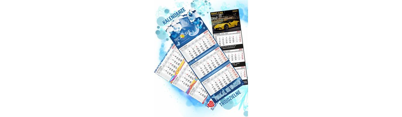 Kalendarze trójdzielne