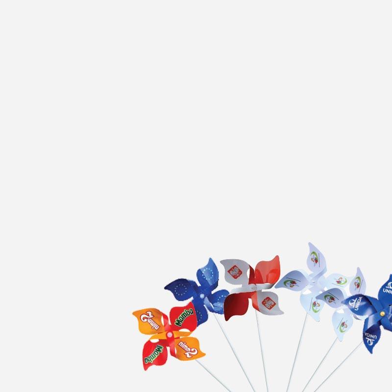 wiatraczki reklamowe